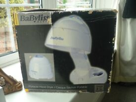 Babyliss portable table top hairdryer