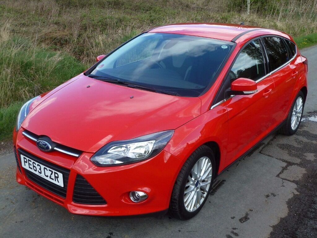 2013 ford focus zetec turbo eco boost red in wolverhampton west midlands gumtree. Black Bedroom Furniture Sets. Home Design Ideas
