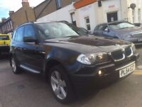 BMW X3 2.5 SPORT AUTOMATIC 2005 (54) MINT PANORAMIC ROOF HEATED LEATHER NEW MOT MINT