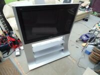 Panasonic 37 inch HD Plasma TV ★ Factory Floor Stand and Remote ★ Good Condition ★