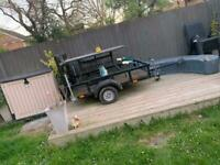Towing trailer
