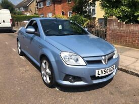 Vauxhall Tigra 1.4 CONVERTIBLE - light blue - low mileage - recently serviced