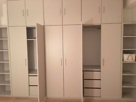 Fitted wardrobes- storage solutions - custom made furniture