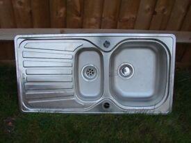 1.5 bowl kitchen sink