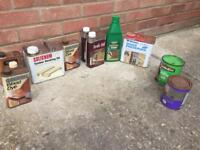 FREE Garden and wood care items