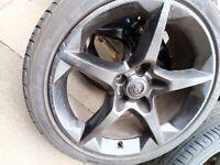"""Vauxhall 5 stud 18""""alloys"""