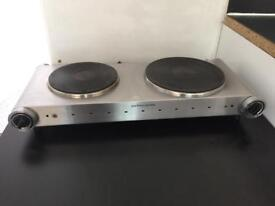 Table top double hob