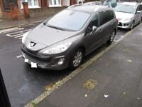 2009 Peugeot 308 2.0 HDI Diesel SE MPV, PAN ROOF, FPSH IMMACULATE Condition family car BARGAIN CHEAP