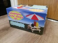 Condiment Picnic Bench - Never Opened
