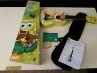 Spongebob Squarepants ukulele outfit.