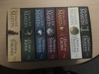 A Song of Ice and Fire, 7 Volumes Paperback