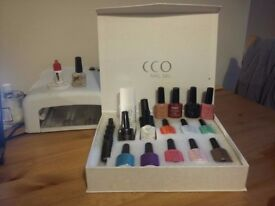 UV Light-Professional CCO Nail Polish Set +Presentation Box. [x13 Colours] £50