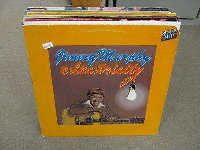 Jimmy Murphy Electricity vinyl LP EX Sugar Hill 1978 Ricky Skaggs