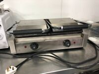 Double Panini press grill like new