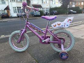 """Disney Princess 14"""" bike in excellent condition for sale"""