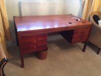 Office Desk - Hardwood