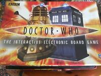 Doctor Who electronic board game plus Tardises and cards!