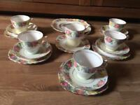 Vintage Colclough tea set