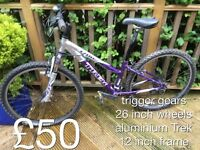 Selection of Ladies mountain bike - from £25 - £50 Ladies or girls hardtail mountain bike female