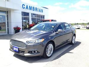 2016 Ford Fusion SE with SE Tech Package!