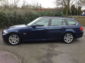 2010 (10) BMW 3 Series 3.0 325d SE Touring 5dr Blue Manual LADY OWNER