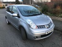 07 Plate Nissan Note Accenta 1386cc Careful Elderly owner Owned past 5 Years Long MOT Low Mileage