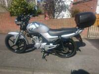 Yamaha YBR 125 59 Plate Excellent Condition HPI clear 12 months mot