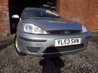 04 FORD FOCUS 1.6,MOT FEB 018,2 OWNERS,PART HISTORY,TRADE IN CAR PRICED TO SELL,VERY RELIABLE CAR