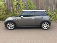 MINI COOPER S + 1.6 + 2003 + IN GREY + FULL PAN ROOF