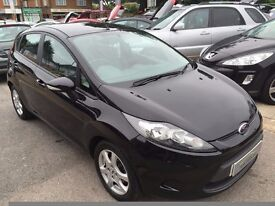 2010/10 FORD FIESTA 1.25 EDGE,BLACK,5 DR,2 OWNERS,EXCELLENT CONDITION,LOW RUNNING COSTS,DRIVES WELL
