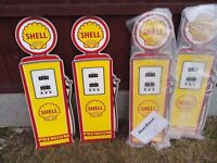 shell oil signs (ideal for garages)