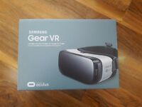 Samsung Virtual Reality Headset. Brand new, security seal stickers still on box