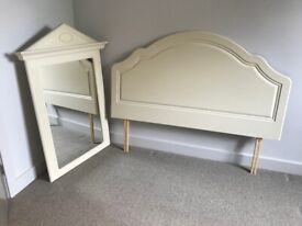 'Hammond's Melody bedroom mirror and matching king size bedhead