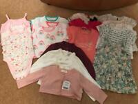 3-6 months baby girls summer clothes