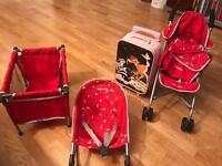 Maclaren's Deluxe Activity Set plus Bambi kids suitcase £25
