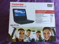 Toshiba SD-P71S Portable DVD Player