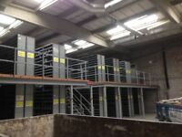 dexion impex industrial shelving 2.2m high ( storage , pallet racking )