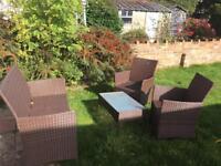 Garden furniture - 12 mths old - good condition
