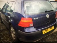 for sale ////////// 2002 (diesel) 1.9lt vw golf 5 door