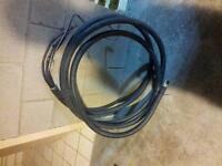 1awg-3c ACWU Cable Electrique 150amps 24 pieds