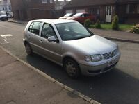 2001 silver Volkswagen polo 5 door hatchback ,px options available