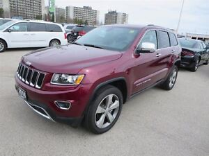 2016 Jeep Grand Cherokee Limited - 4x4  leather  GPS  Sunroof