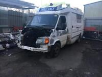 Ford transit camper project?