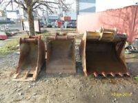 Digger buckets 20Ton 8-5 Ton quick hitch