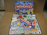 Monopoly (CHELSEA FOOTBALL CLUB EDITION) board game. By Parker Games 2009. Complete.