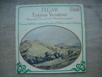 ELGAR Enigma Variations by Elgar (Norman Del Mar) CONTOUR 2870440 Vinyl LP
