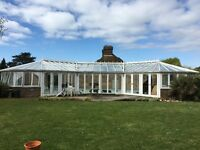 Pool house/conservatory large Ultraframe