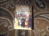 Crime and Society in England in 1750 - 1900 4th edition, Clive Emsley