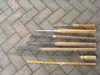 Wood turning tools - various