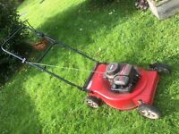 Petrol lawn mower Briggs and Stratton 3.75hp for quick sale